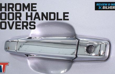 2007-2013 Silverado 1500 Chrome Door Handle Covers Review & Install Near 89439 Verdi NV