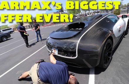 Taking a $2Million Bugatti Veyron Mansory to CarMax for an Appraisal Near 41002 Augusta KY