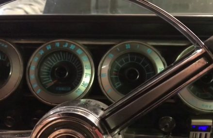 1967 Dodge Charger Electroluminescent Dash at 57421 Amherst SD