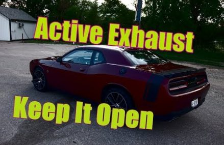 Challenger & Charger Active Exhaust How To Keep It Open From 98220 Acme WA