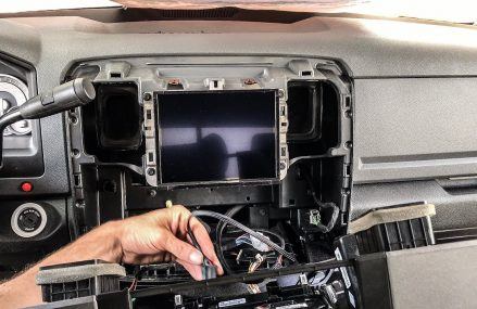 RAM 1500 8.4 factory CarPlay radio conversion in City 55378 Savage MN