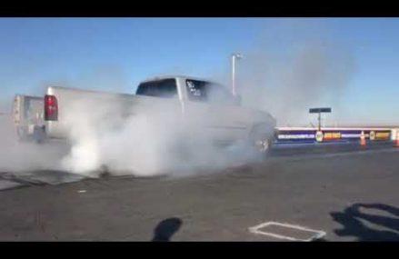 Dodge V10 burnout contest (tires explode) Local 22603 Winchester VA