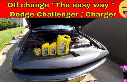 Oil change Dodge Challenger / Charger  345 hemi  392 Hemi 5.7L 6.1L 6.4L Local Area 78746 Austin TX