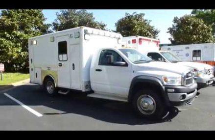 2010 Dodge Ram 4500 Type 1 Ambulance – Tag# 115228 Local Area 95137 San Jose CA
