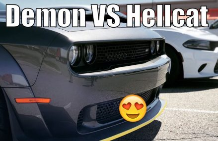 The Demon is it Fast? Dodge Demon Races Charger Hellcat….Well Sort Of! in 76823 Bangs TX