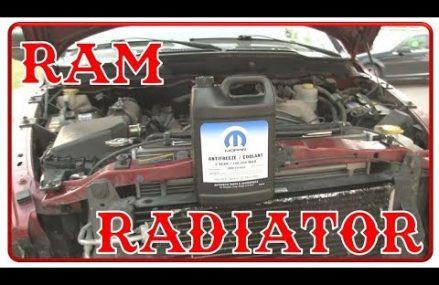 How To: 2006 Dodge RAM 3500 5.9 Cummins radiator- Easy Mode Area Near 44481 Warren OH