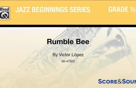 Rumble Bee, by Victor López – Score & Sound Locally At 94598 Walnut Creek CA