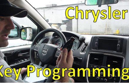 Programming Chrysler Keys (FOBIK) With Autel Found at 15123 West Mifflin PA