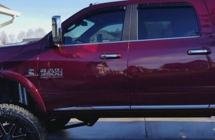 Lifted 2017 ram 3500 limited 8″ lift on 24 x 40s Near 15780 Valier PA