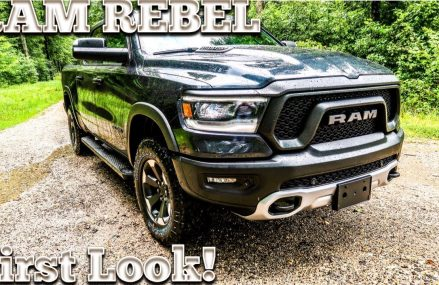 2019 RAM Rebel 1500 First Look! Around Streets in 24801 Welch WV