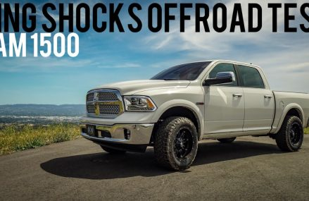Ram 1500 Leveling Kit Before and After: Offroad Testing King Shocks   CJC Off Road Area Code 12589 Wallkill NY