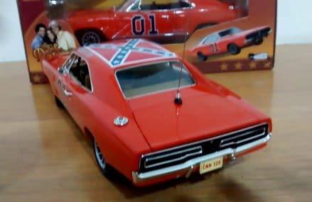 1/18 DODGE CHARGER 1969 GENERAL LEE THE DUKES OF HAZZARD AUTO WORLD Local Area 30356 Atlanta GA