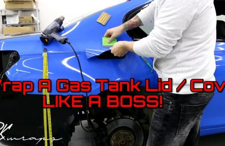 How To Vinyl Wrap A Gas Tank Lid / Cover Like a BOSS! Near 50831 Arispe IA