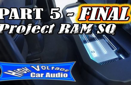 PART 5 (FINAL) – JL AUDIO SQ BUILD IN 2011 DODGE RAM 1500 Near 60154 Westchester IL