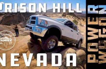 4 Wheeling Prison Hill Nevada: Ram Power Wagon, Jeep JKU, 3rd Gen 4Runner From 4785 Van Buren ME
