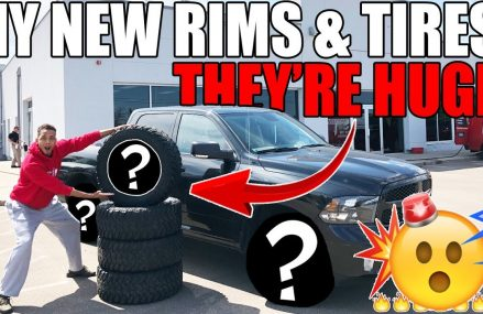 My BRAND NEW RIMS & TIRES For My Ram Have FINALLY ARRIVED!! in 72685 Western Grove AR