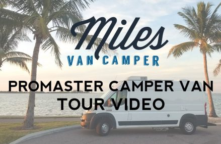 DIY Promaster Camper Van Conversion Tour – Miles Van Camper Around Streets in 20394 Washington DC
