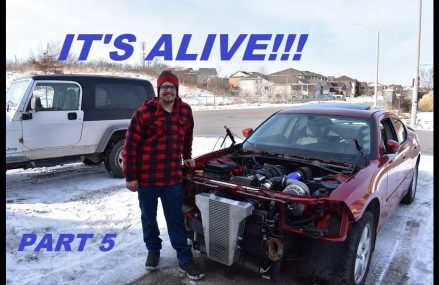 Its Alive!! Budget Supercharging my 2007 Dodge Charger R/T AWD!!! Part 5 in 22209 Arlington VA