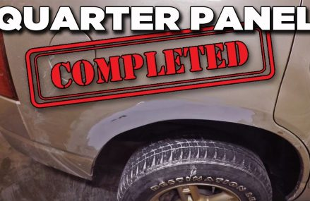 Quarter Panel Repair Is Completed | Project Off Road Explorer Near 96785 Volcano HI