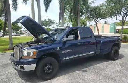 2006 dodge ram 3500 big horn Cummins  diesel for sale Locally At 49288 Waldron MI
