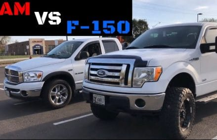 Dodge Ram Vs Ford F150 Race Locally At 63088 Valley Park MO