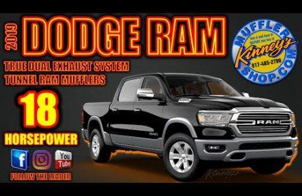 2019 Dodge Ram True Dual Tunnel Ram Performance Exhaust by Kinney's 17-18 Horsepower! Area Near 24590 Scottsville VA
