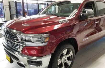 2019 Ram 1500 Laramie 4×4 crew cab truck review Zip Area 2090 Westwood MA