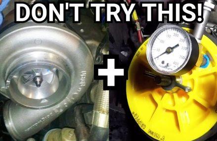 Diesel Truck Turbo Boost Leak Tutorial… How NOT To Check For Boost Pressure Leaks!! Local 26591 Worthington WV
