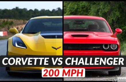 Dodge Challenger Hellcat vs Chevrolet Corvette Z06 | Top Speed and Acceleration Comparison in 30392 Atlanta GA