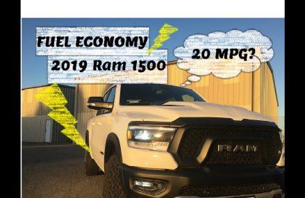 2019 Dodge Ram 1500 Fuel Economy PROOF! Locally at 20570 Washington DC