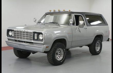 1978 DODGE RAM CHARGER Around Zip 54614 Bangor WI