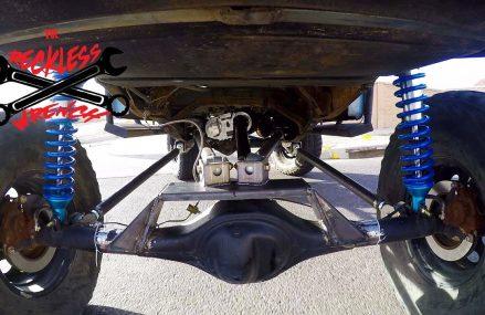 Ford Ranger 4 Link Suspension Build – (2018) Reckless Wrench Garage Place 38589 Wilder TN