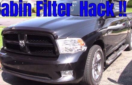 Ram 1500 cabin filter mod !! Local 20586 Washington DC