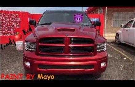 Dodge Ram Paint&Body Transforamtion By: Mayo Garcia Local 13477 Vernon Center NY