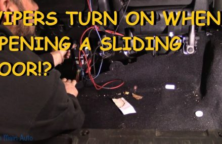 Dodge Grand Caravan: Wipers Turn On When You Open Door? Local Mc Kinney 75071 TX