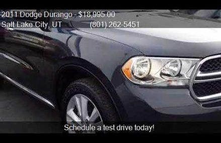 2011 Dodge Durango Crew Lux AWD 4dr SUV for sale in Salt Lak Overland Park Kansas 2018
