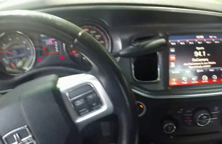 Dodge Charger Pursuit SE 4.3 to 8.4 RB5 Radio Upgrade Testing P05091367 Near 85123 Arizona City AZ