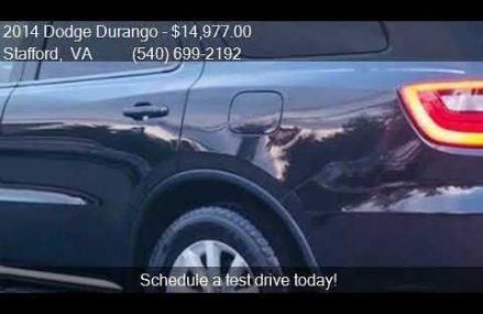 2014 Dodge Durango SXT 4dr SUV for sale in Stafford, VA 2255 North Las Vegas Nevada 2018