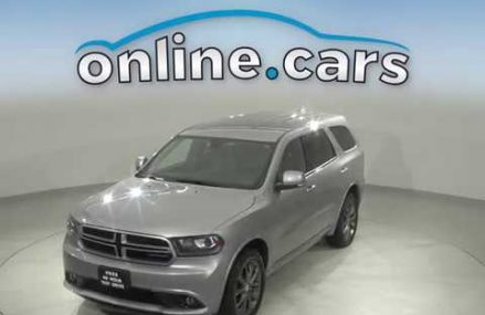 A12904TA Used 2018 Dodge Durango GT AWD Gray SUV Test Drive, Review, For Sale Pittsburgh Pennsylvania 2018