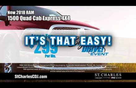 Lease Buy a New 2018 Ram 1500 Quad Cab Express 4×4 Place 4073 Sanford ME