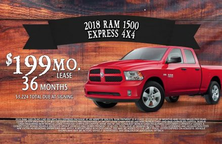 Lease A Ram 1500 4×4 For $199/mo! Zip Area 29692 Ware Shoals SC