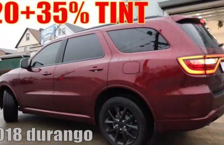 20+35% Tint 2018 Dodge Durango (winning window tint) Glendale Arizona 2018