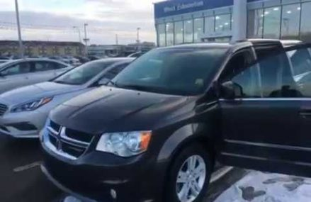 2017 DODGE CARAVAN CREW PLUS – EDMONTON CONTACT GREGTHECARGUY.COM CALL/TEXT: 587-200-5676 in Madison 53784 WI