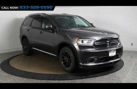 2016 Dodge Durango SXT in Brooklyn, NY 11220 Huntsville Alabama 2018