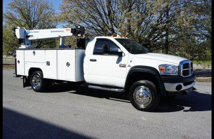 2008 DODGE RAM 5500 MECHANICS TRUCK UTILITY SERVICE TRUCK CRANE CUMMINS DIESEL in City 85365 Yuma AZ
