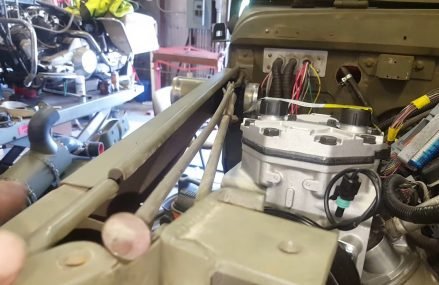 York onboard air compressor on an LS engine in a Dodge M37 Locally at 37398 Winchester TN