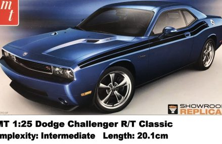 AMT 1:25 Dodge Challenger R/T Classic Kit Review Local Area 57001 Alcester SD