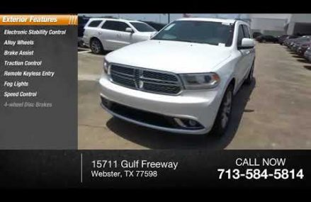 2018 Dodge Durango Webster TX JC209389 Columbus Georgia 2018