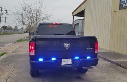 2018 Ram SSV Police Lights by EFS Houston Emergency Fleet Zip Area 54982 Wautoma WI