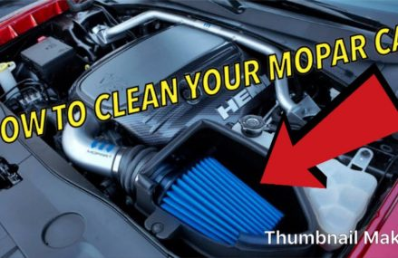 How to Clean Your Mopar Cold Air Intake at 62313 Basco IL